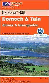 Dornoch and Tain (Explorer Maps)