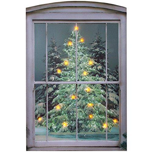 Ohio Wholesale Glistening Pines Canvas Radiance Lighted Wall Art