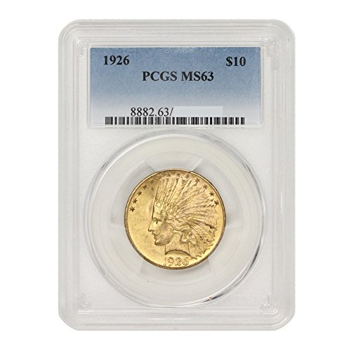 Coin Gold Rare (1926 Gold Indian Head 10 MS63 PCGS)