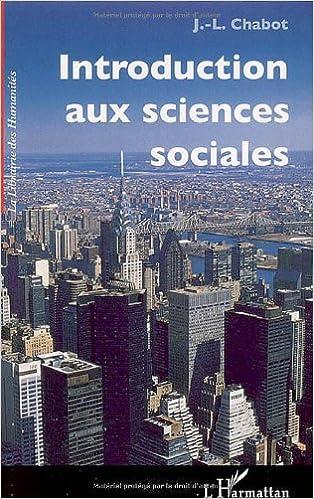 Télécharger en ligne Introduction aux sciences sociales pdf, epub