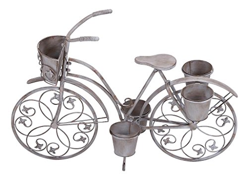Deco 79 68767 Metal Bicycle Planter Stand, 36 by