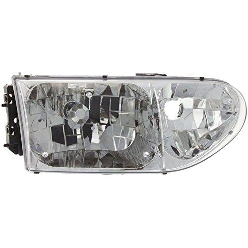 Headlight for Mercury Villager 99-02 Right Assembly Halogen