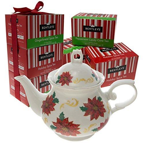 Bentley's Bulk Lot Gift Set of 6 Boxes Black Tea Bags & W...