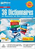 36 Dictionnaires et Recueils de Correspondance