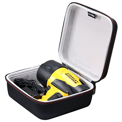 LTGEM Case for STANLEY FATMAX FL5W10 Waterproof LED Rechargeable Spotlight - EVA Hard Case Travel Protective Carrying Storage Bag by LTGEM