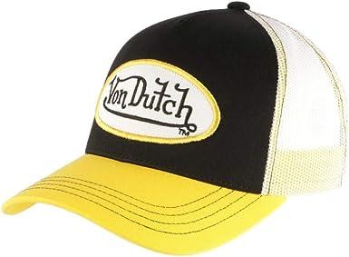Von Dutch - Gorra de béisbol para hombre amarillo Talla única ...