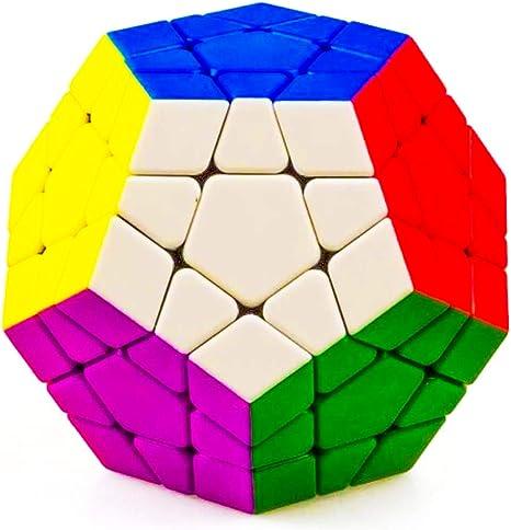 D ETERNAL ShengShou 3x3 Megaminx High Seed Rubiks Rubix Stickerless Speed Rubic Cube Puzzle