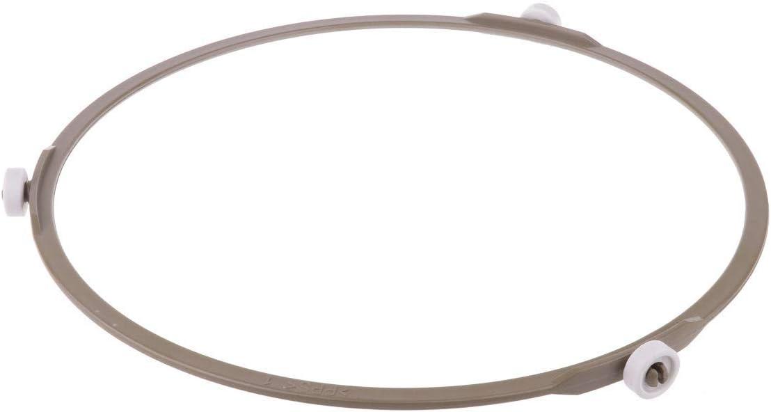 Au/ßendurchmesser der Platte 8 cm 2 St/ück f/ür Glasplatte Drehtellerring f/ür die Mikrowelle drehbar