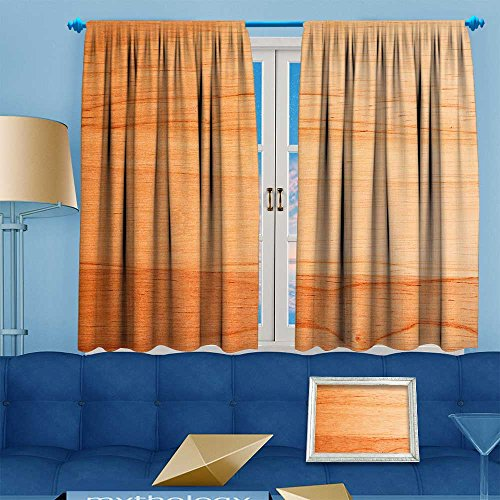 (Muyindohome Blackout Room Darkening Curtains old wood wallpaper texture background Window Panel Drapes Grommet Top 63