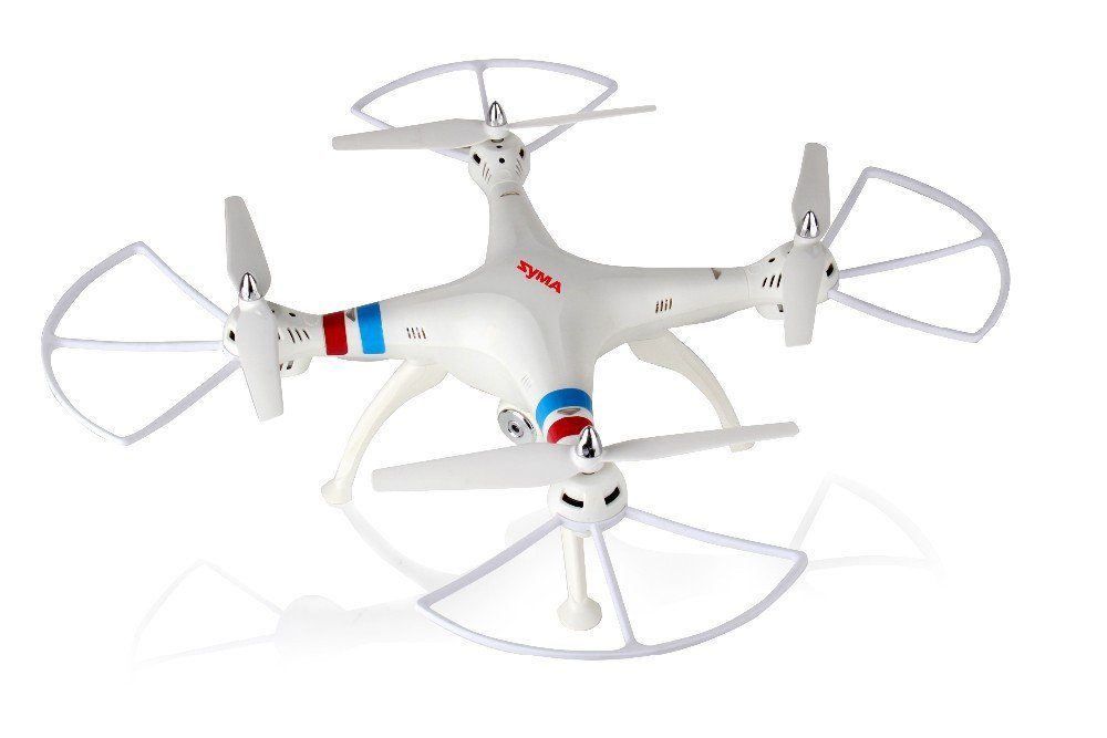 Syma X8C Venture 4-Channel 2.4GHz 6 Axis RC (Remote Control) Quadcopter with 2MP Camera Weiß