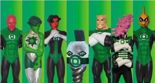 (Green Lantern PVC Set 2)