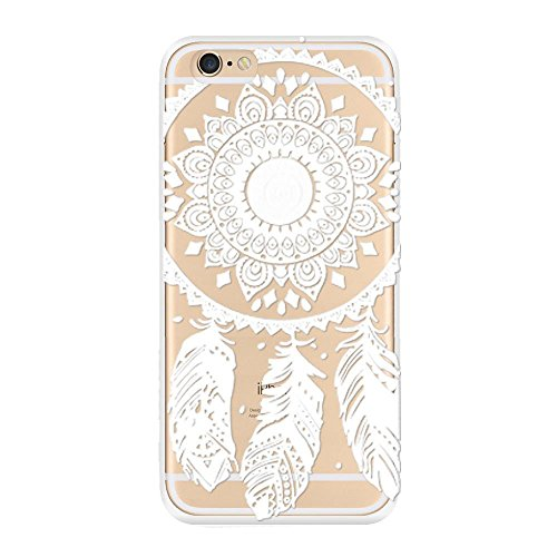 Sannysis Für iphone6 Plus-5.5inch hülle;3PC Henna Floral Paisley-Blumen-Raum Hard Case