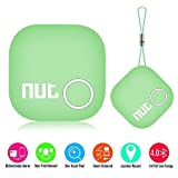 Smart Tag Nut 2 Bluetooth Anti-lost Tracker, Key Finder Tracking Wallet Key Bag Pet Dog Tracer Locator Alarm Patch GPS Locator for iOS/ iPhone/ iPod/ iPad/ Android, Green