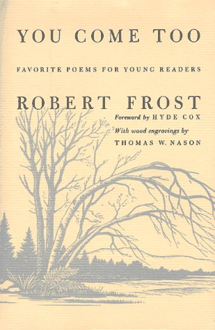 Image for You Come Too: Favorite Poems for Young Readers