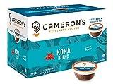 Cameron's Specialty Coffee, Kona Blend, 72 Count, Single Serve