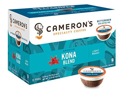 Cameron's Specialty Coffee, Kona Commingle, 72 Count, Single Serve