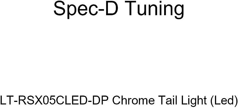 Led Spec-D Tuning LT-SIE14CLED-TM Chrome Tail Light