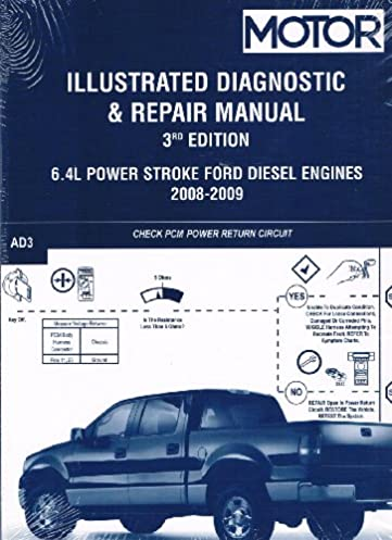 illustrated diagnostic repair manual for 6 4l power stroke ford rh amazon com 2007 Ford Powerstroke Diesel Lifted Ford Powerstroke Diesel