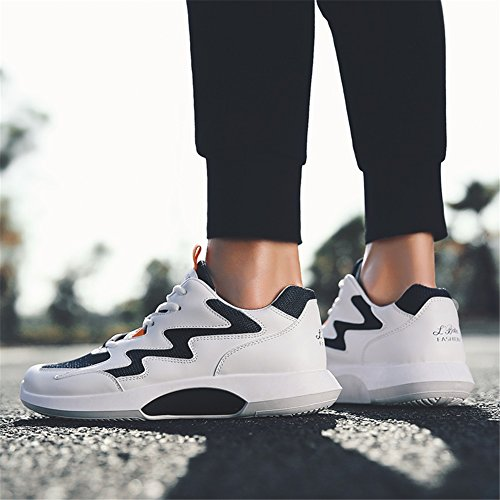 Shoes Shoes Shoes Spring up for Athletic A Red Tulle Men's Running Lace Athletic Blue Fall Outdoor HUAN Comfort White xz0tqwp55