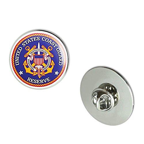 NYC Jewelers ROUND Coast Guard RESERVE (us military) Metal 0.75
