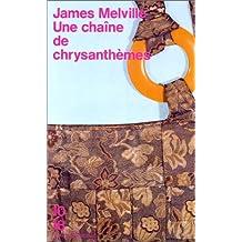 Chaine de chrysanthemes -une