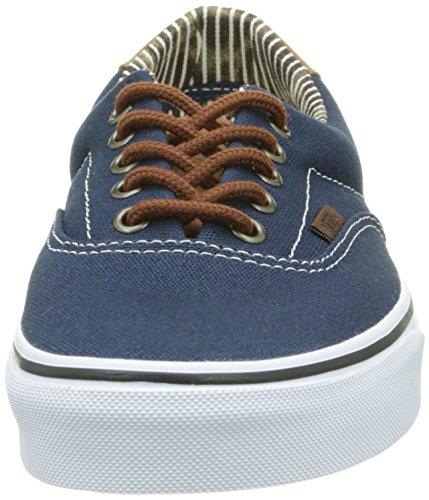 Denim Blues Blu Scarpe Stripe Era Adulto Unisex Basse Dress 59 C da amp;l Vans Ginnastica 6B7fa1qaw