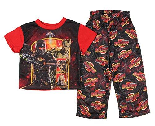 Boy's Guardians of the Galaxy 2-Piece Pajama Sleepwear Set (L 10/12)