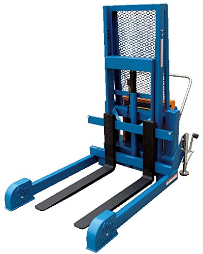 Vestil LL-PMPS-50-AIR Air and Oil Reciprocating Foot Lite Load Pallet Master, 1200 lb., 67.1875'' Length, 58'' Width, 72.375'' Height
