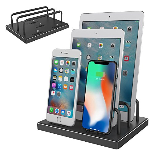 Cheap Charging Stations iPhone Charging Dock, iPhone Charger, Stand for iPad, Reflying [Apple MFi Certified]..