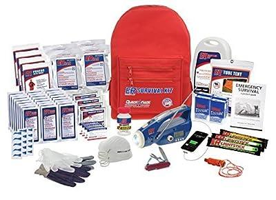 ER Emergency Ready Ultimate Deluxe Backpack Survival Kit