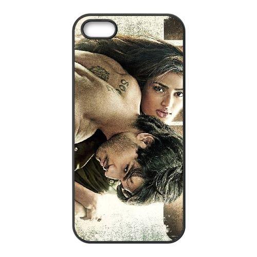 Hero 2015 coque iPhone 5 5S cellulaire cas coque de téléphone cas téléphone cellulaire noir couvercle EOKXLLNCD24357