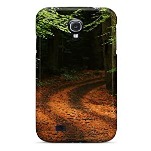 Fashion Protective Forest Path Road Case Cover For Galaxy S4