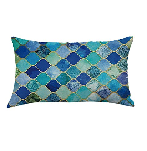 FORUU Throw Pillowcase, St. Patrick's Day Clover Ladies Sales 2019 Under 10 Valentine's Day Best Pattern Pillowcase Pillow Case Covers Cushion Sofa Home Car -
