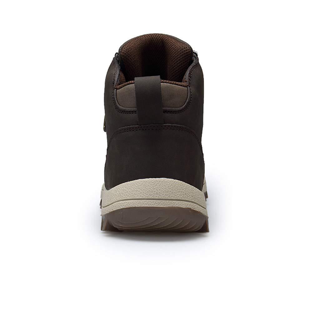 AZOOKEN Hombre Mujer Botas de Invierno Zapatillas Trekking Senderismo Impermeables Nieve Antideslizante Calientes Botines (572-Blue44)