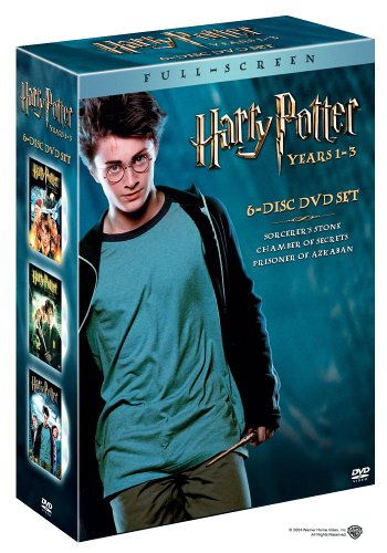 1-3 Collection (Harry Potter and the Sorcerer's Stone/Harry Potter and the Chamber of Secrets/Harry Potter and the Prisoner of Azkaban) (6-Disc DVD Set) (Full Screen Edition) ()