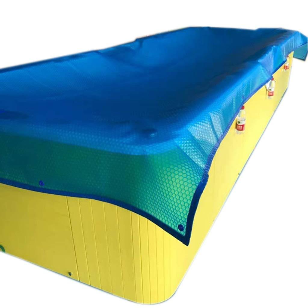 WZNING Cubierta Solar Rectangular, Azul de la natación Grandes ...