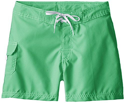 c8ae15e908 Kanu Surf Big Girls' Sassy Boardshorts, Green, Large (12-14)
