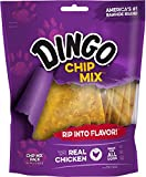 Dingo Non-China Chip Mix Snack For All Dogs, Chicken, 16-Ounce
