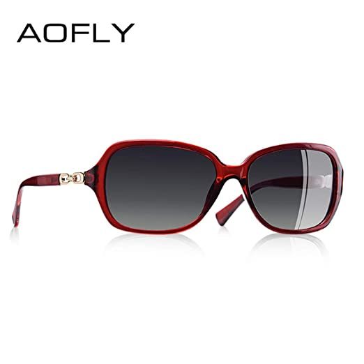 Yangjing-hl Gafas de Sol polarizadas Mujer Gafas de Sol ...