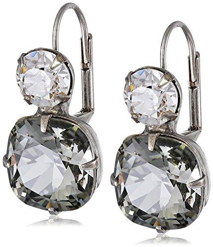 "Price comparison product image Sorrelli ""Black Diamond"" On the Edge Earrings - Sorrelli Essentials"