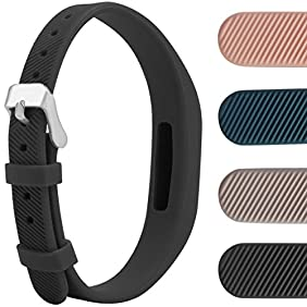 Flex 2 Buckle Bracelet, Colorful Bands Extra Secure and Super-slim Swim-proof Stylish Fitness Wristbands, Ftbit Flex 2 Replacement Bands with Chrome Watch Clasp and Fastener Buckle, Protect Our Fitbit