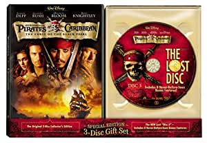 Pirates Of The Caribbean: Curse Of The Black Pearl and The Lost Disc (3-Disc Special Edition Gift Set) (Sous-titres français)