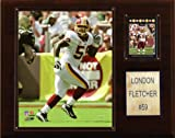 NFL London Fletcher Washington Redskins Player Plaque