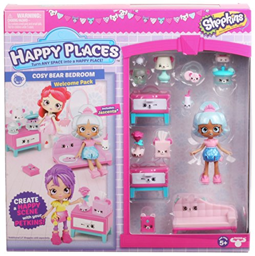 Shopkins Happy Places Season 3 Welcome Pack - Cosy Bear Bedroom (Place Happy One)