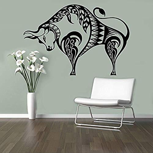 Wall Vinyl Decal Taurus Horoscope Bull Buffalo Sticker Home Decor Ideas Art Interior Removable Design HDS8638