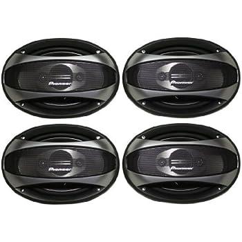 pioneer 6x9 speakers. pioneer tsa6983r 6x9 4 way car speakers with 1760 watts total peak output (pair of