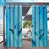 Best Fashion Bed Group Bunk Beds - DESPKON Shading Polyester Material Group of Dolphins in Review