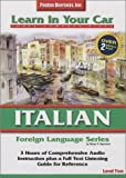 img - for Italian: Level 2 (Learn in Your Car) (Italian Edition) book / textbook / text book