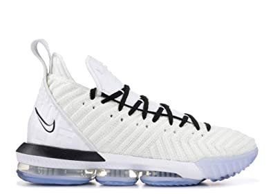 new concept 71b8f dc02b Amazon.com | Nike Lebron XVI (Equality) White/Black | Basketball