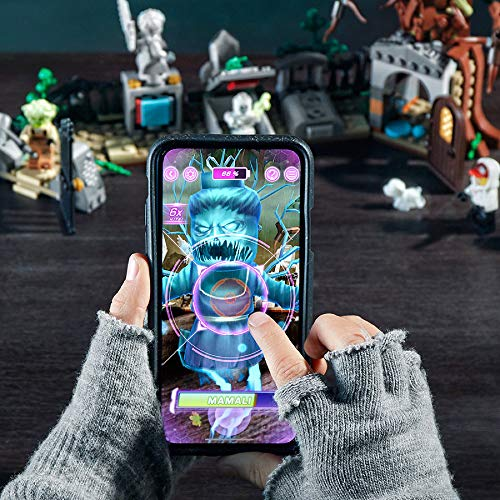 51SAMFTceYL - LEGO Hidden Side Graveyard Mystery 70420 Building Kit, App Toy for 7+ Year Old Boys and Girls, Interactive Augmented Reality Playset, New 2019 (335 Pieces)